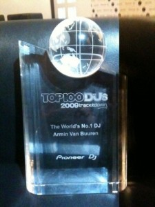 DJ Armin Van Buuren Award