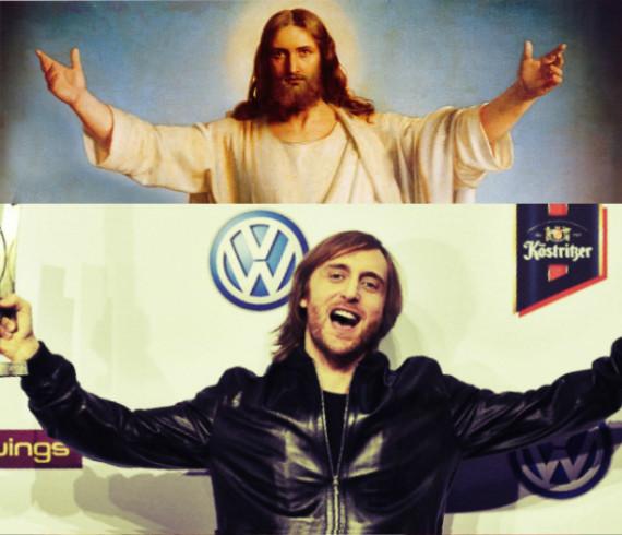 Jesus Christ David Guetta www.dancemusicpr.com www.hammarica.com