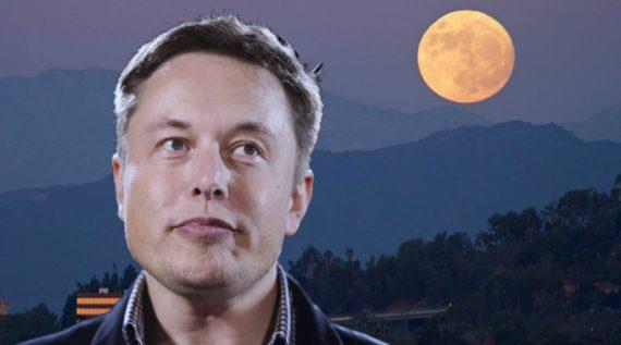 Elon Musk EDM Moon Festival